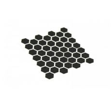 Hexmag AR15 magazine - Black Grip Tape for Hexmag magazines (1 sheet = 46 hex shapes)