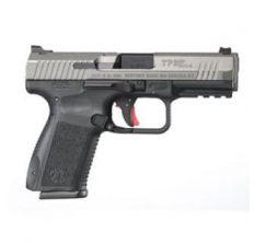 Canik TP9SF ELITE S 9mm Pistol 4.2'' barrel Trigger Stop TUNGSTEN GREY CERAKOTE (2) 15rd mags HG3899T-N