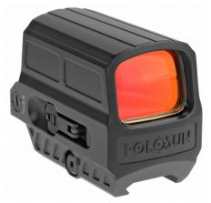 Holosun Technologies Red Dot 1X28mm, 2MOA Dot with 65MOA Circle - Black Finish