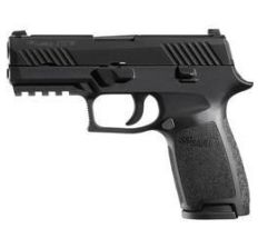 Sig P320 CARRY 9MM BLK NITRON CONT SIGHTS 17RD