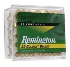 Remington Golden Bullet .22 LR - Remington Golden Bullet .22 LR 40gr 100rd box 21276