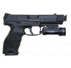 Heckler & Koch VP9 15rd RCM Threaded Barrel PMM Compensator Illuminated Sights Streamlight TLR-1 HL 800 Lumen Light