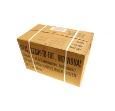 SOPAKCO US Military Surplus MRE Case - 12 Individual Meals