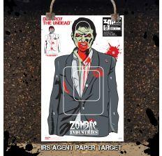 IRS Agent Indoor Paper Target 18x24''