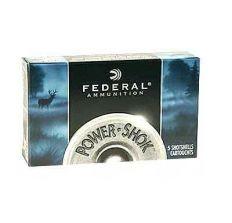 "Federal Powershok 12ga 2.75"" Max Dram 00 Buck Shot 5rd"