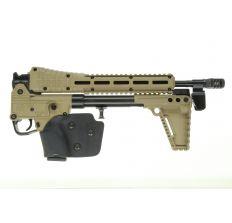 KEL-TEC SUB2000 CA LEGAL 9mm Rifle GLOCK 17 MAG TAN GEN 2 with Lone Wolf Compensator & installed grip wrap (1) 10rd mag - California Legal Sub2k FEATURELESS