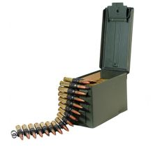 FEDERAL LAKE CITY 50BMG 100RDS LINKED 4:1 XM33C & XM17 Tracer
