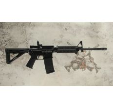 Sig Sauer M400 Enhanced Carbine 5.56 NATO - BLACK (1) 30rd mag & Magpul Rear Flip-up Sight RM40016BEC