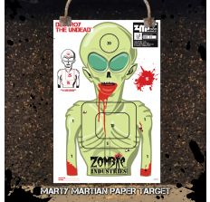Alien Zombie - Colossal 24x36'' Paper Target