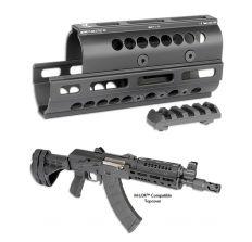 Midwest Industries AK Handguard - AK-47/74 SS Yugo Krink M-Lok T1/VS Top