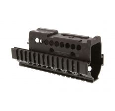 Midwest Industries Yugo Model AK47 Handguard (M70) with T1/VS Optic Specific Topcover, black