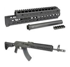 MI Gen2 AK47/74 EXTENDED Handguard Universal KeyMod Model - T1 Top