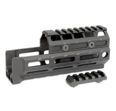 Midwest Industries Gen2 AK47/74 Handguard Universal M-Lok Model - Rail Top MI-AKG2-UM