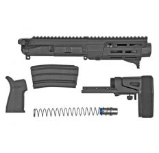 "Maxim PDX 5.56 NATO 5.5"" Barrel Complete Upper Kit w/SCW PDW Brace - Black"