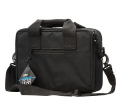"NC Star Double Pistol Range Bag Black 13""x10""x3.3"""
