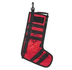 NC Star Tactical Christmas Stocking Red/Black with Handle