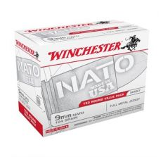 Winchester 9mm NATO 124gr FMJ 150rd Box