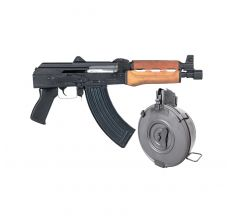 CENTURY ARMS ZASTAVA PAP M92 AK Pistol 7.62X39 (1) 30rd mag and (1) 75RD DRUM