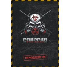 Prepper Gun Shop 4 Color 54 Card Deck of Playing Cards