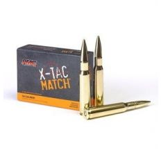 PMC X-TAC Match .50 BMG Rifle Ammunition 740 Grain Solid Brass 10rd Box