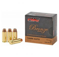 PMC Bronze Ammo 10mm 170gr JHP - 25rd Box