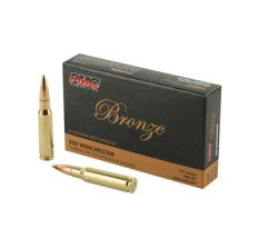 PMC Rifle Ammunition Bronze .308 Winchester 147 Grain FMJ-BT 500rd Case