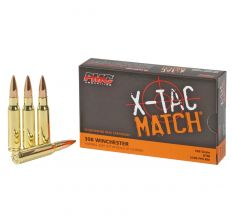 PMC Ammo .308 X-TAC Match 168gr OTM - 20rd Box