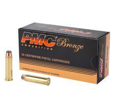 PMC Bronze .357 Magnum Handgun Ammunition 158 Grain Jacketed Soft Point 50rd Box