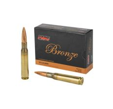 PMC Bronze Rifle Ammunition .50 BMG 660 Grain FMJ-BT 10rd Box