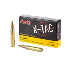 PMC Rifle Ammunition X-TAC 5.56NATO 62 Grain LAP Green Tip 1000rd Case