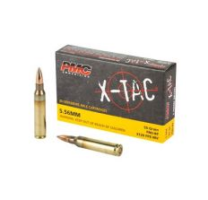 PMC Rifle Ammunition X-TAC 5.56NATO  55 Grain FMJ-BT 1000rd Case