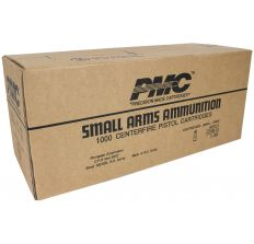 PMC Bronze .45 ACP Handgun Ammunition 45A 230 gr FMJ 830 fps 1000ct case