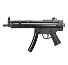 PTR 9CT MP5 Pistol 9mm Threaded and 3 Lug 30rd Black M-Lok Handguard