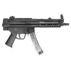 "PTR 601 9mm MP5 Style Pistol 8.86"" Threaded Barrel 30rd"