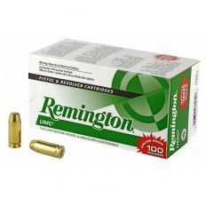 Remington UMC Value Pack .40 S&W 180 Grain Weight 100rd FMJ
