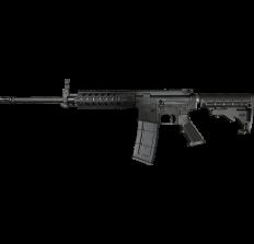 "R Guns TRR15 Forged AR15 Rifle 5.56 NATO 16"" Barrel 7"" Quad Rail 30RD - Black"
