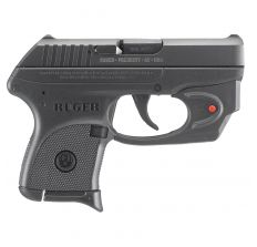 """Ruger LCP .380ACP 2.75"""" 6rd W/ Viridian E-Series Red Laser - Black"""