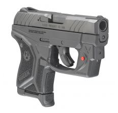 "Ruger LCP II Compact 380ACP Pistol 2.75"" Barrel Black 6rd Viridian Laser & Fixed Sights"