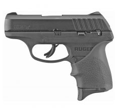 "Ruger EC9S 9mm 3.12"" 7rd Black Hogue Grip"