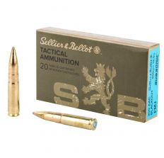 SELLIER & BELLOT S&B 300BLK 200GR FMJ SUBSONIC 20RD