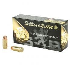 Sellier & Bellot .40 S&W Ammunition 180gr FMJ 50rd