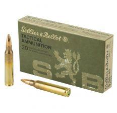 Sellier & Bellot Ammunition 5.56 Nato 55gr FMJ - 20rd Box