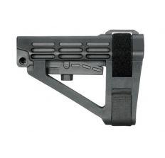SB Tactical SBA4 Pistol Stabilizing Brace Black NO Receiver Extension