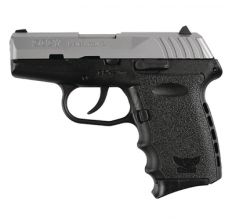 "SCCY Pistol CPX2 9MM DAO 3.1"" 10RD BLK/SS NO SAFETY"