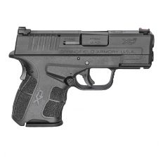 "SPRINGFIELD XDS MOD.2 .45ACP 3.3"" BLK FIBER OPTIC SIGHT"