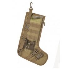 NC Star Tactical Christmas Stocking Tan FDE with Handle