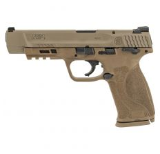"""Smith & Wesson M&P9 M2.0 9mm 5"""" (2) 17rd Thumb Safety - FDE"""