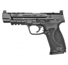 """Smith & Wesson M&P9 Performance Center 9mm 5"""" 17rd Ported - Black"""