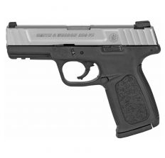 """Smith & Wesson SD9VE 9MM 10RD 4"""" MA Compliant  - Black Frame / Stainless Slide"""