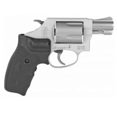"""Smith & Wesson S&W 637 1.875"""" 38 Special Stainless Finish Alloy Frame Laser Grip"""